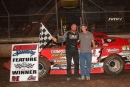 David Breazeale collected a $3,000 MSCCS victory at Columbus (Miss.) Speedway. (Scott Oglesby)