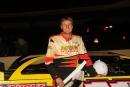 Keith Jackson swept the Winchester 200 weekend at Winchester Speedway. (Travis Trussell)