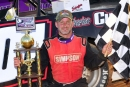 Casey Roberts earned $4,000 Sept. 21 at Lavonia (Ga.) Speedway for his Ultimate Super Late Model Series victory. (focusedonracing.com)