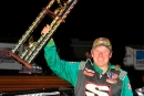 Jeff Smith captured a $2,000 Fastrak victory Saturday at Lavonia (Ga.) Speedway. (Mark Bochiardy)