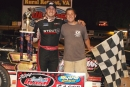 Chris Ferguson picked up a $4,000 Carolina Clash victory at Wythe Raceway. (Gene Murphy)