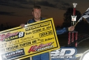 Mike Spatola earned $3,000 for his Oct. 18 Kokomo Klash victory at Kokomo (Ind.) Speedway. (Jim DenHamer)