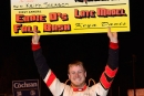Keith Jackson enjoys victory lane after his $8,000 triumph Oct. 25 in Ernie D's Fall Bash at Hagerstown (Md.) Speedway. (wrtspeedwerx.com)