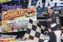 Southern All Star champ Riley Hickman earned $5,000 for his victory in Cleveland (Tenn.) Speedway's season-ending Gobbler on Nov. 21. (dt52photos.com)