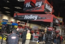 The large Holley Carburetor display at the PRI Trade Show at the Indiana Convention Center in Indianapolis. (DirtonDirt.com)