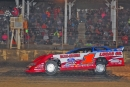 Earl Pearson Jr. led all but the first lap Saturday at Brownstown (Ind.) Speedway for a $10,000 Lucas Oil Late Model Dirt Series victory. (schaefer11.smugmug.com)