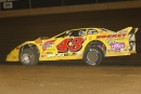 Tom Myers drove his Bryan Klinedinst-owned car to his first Renegade Racing Series victory at Thunder Valley Speedway in Central City, Pa., on Aug. 10, 2002. (rickschwalliephotos.com)