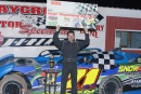 Bo Allen of Bryceville, Fla., notched his first career United Dirt Late Model Challenge Series victory March 28 at Waycross (Ga.) Motor Speedway. (ricksdarkroom.com)