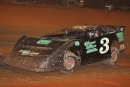 Hometown driver Chesley Dixon led every lap of May 2's Pine Tree 100 at Swainsboro (Ga.) Raceway for a $5,000 Crate Late Model victory. (Richard Barnes)