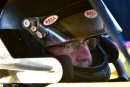 Billy Moyer is buckled in and ready for action April 30 at Macon (Ill.) Speedway's Lucas Oil Late Model Dirt Series event. (rickschwalliephotos.com)