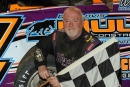 Mel Minnick Jr. won May 16's Super Late Model feature at Roaring Knob Motorsports Complex in Markleysburg, Pa. (Howie Balis)
