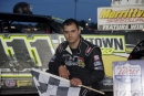 Max Blair picked up $2,000 on May 18 at Merrittville Speedway in Thorold, Ontario, in a RUSH touring event. (Ken Kelly)