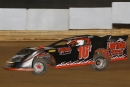 Brandon Thompson won May 22's Limited Late Model feature at Jackson County Speedway in Jackson, Ohio, for his first Late Model win. (Tyler Carr)