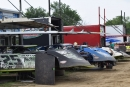 Cars begin filling the pits for Friday's Summernationals stop at Fayette County Speedway. (DirtonDirt.com)