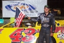 Mason Zeigler earned $4,000 Thursday at Hesston (Pa.) Speedway on the UFO Race Championship Series. (Derek Bobik)