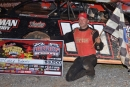 Casey Roberts led all 35 laps of July 28's Schaeffer Oil Southern Nationals event at Boyd's Speedway in Ringgold, Ga. (Phillip Prichard)