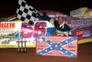 David Gentry won March 5, 2005, at South Mississippi Speedway in Pass Christian on the Mississippi State Championship Challenge Series. (DirtonDirt.com)
