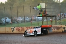 Jeff Smith wins a prelim at North Georgia Speedway, where he went on to capture Aug. 1's United Crate Racing Alliance feature. (binghamfreelance.com)