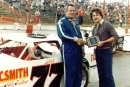Leon Sells won the 1983 Dixie 200 at Dixie Speedway in Woodstock, Ga. (Charles Westmoreland)