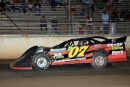 David Clegg heads to a $3,000 National Late Model Series victory Aug. 21 at Oglethorpe Speedway Park near Savannah, Ga. (focusedonracing.com)