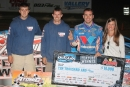 Josh Richards made his second trip to victory lane of the weekend Aug. 22 at Ohio's Atomic Speedway in World of Outlaws Late Model Series action. (Tyler Carr)