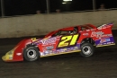 Billy Moyer heads to a $5,000 MARS DIRTcar Series victory Aug. 28 at Tri-City Speedway in Granite City, Ill. (Jim DenHamer)