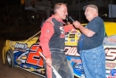 After driving Kenneth Howell's car, Tim Dohm talks about his $4,000 West Virginia Dirt Cup victory Aug. 29 at Princeton Speedway. (peepingdragonphotography.com)
