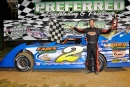 Josh Putnam swept Sept. 26's Super and Limited Late Model features at Duck River Raceway Park. (photobyconnie.com)
