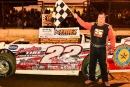 Greg Oakes earned $4,000 in Sept. 25's opener for the September Sweep weekend at Eriez Speedway in Hammett, Pa. (Greg Kinnear)