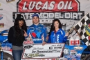 Josh Richards earned $10,000 for Feb. 5's Lucas Oil Late Model Dirt Series victory at Golden Isles Speedway's Georgia Boot Super Bowl of Racing. (heathlawsonphotos.com)