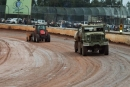 Track prep Feb. 6 at Golden Isles Speedway in Brunswick, Ga., before the finale of the Georgia Boot Super Bowl of Racing. (heathlawsonphotos.com)
