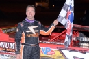 Rick Eckert earned $10,000 for Feb. 13's World of Outlaws Craftsman Late Model Series victory at Screven Motor Speedway in Sylvania, Ga. (dt52photos.com)