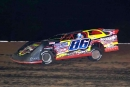 Kyle Beard heads for his first career MARS DIRTcar Series victory May 21 at Springfield (Mo.) Raceway. (Kenny Shaw)