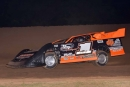 B.J. Robinson heads to a $2,000 P&W Sales Southern United Professional Racing victory May 21 at I-30 Speedway in Little Rock, Ark. (Seth Lacewell)