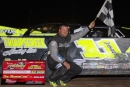 John Waters won the Rush Late Model Series opener May 22 at Humberstone Speedway in Port Colborne, Ontario, for a $2,000 victory. (Ken Kelly)
