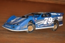 Ross Bailes drove the Billy Hicks-owned No. 79 to a $2,000 Fastrak Triple Crown victory May 28 at Volunteer Speedway in Bulls Gap, Tenn. (rpmphotos.net)