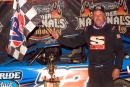 Dennis Erb Jr. earned $10,000 June 23 at Spoon River Speedway in Banner, Ill., for his 20th career UMP DIRTcar Summernationals victory. (Jim DenHamer)