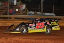 Matt Long heads to a $3,000 victory June 25 on the Fast Unified Engine Late Model Series at Modoc (S.C.) Raceway. (Richard Barnes)