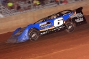 Kyle Bridges heads to a Late Model victory June 25 at Needmore Speedway in Norman Park, Ga. (South Georgia Racing)