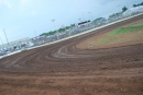 A look from turn two toward the frontstretch grandstand June 30 at Springfield (Mo.) Raceway before UMP DIRTcar Summernationals action. (DirtonDirt.com)
