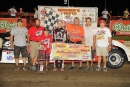 Kyle Berck scored his fourth SLMRS victory of the season at I-80. (Todd Boyd)