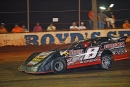 David Payne heads to his first Schaeffer Oil Southern Nationals victory July 26 at Boyd's Speedway in Ringgold, Ga. (Brian McLeod)