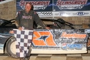 Jim Yoder won Aug. 20's Super Late Model feature at Selinsgrove (Pa.) Speedway. (Barry Lenhart)
