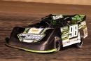 Ben Schaller heads to his second straight victory with the Nebraska-based Super Late Model Racing Series Aug. 27 at Junction Motor Speedway in McCool Junction, Neb. (photosbyboyd.smugmug.com)