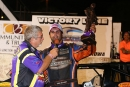 Chad Holladay won the Sept. 24 Ideal Ready Mix Liberty 100 at West Liberty (Iowa) Speedway for his first-ever IMCA Deery Brothers Summer Series triumph. (mikerueferphotos.photoreflect.com)
