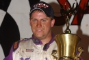 Shannon Babb earned $20,000 for his victory in the 15th annual Dixie Shootout at Dixie Speedway in Woodstock, Ga., on Oct. 9, 2014. (Brian McLeod)