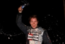 Bobby Pierce celebrates his $5,000 Fall 50 victory. (Jeremey Rhoades)