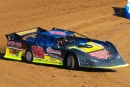 Scott Crigler gets rolling Nov. 26 at Springfield (Mo.) Raceway before his $2,000 Turkey Bowl X victory in Super Late Model action. (stlracingphotos.com)