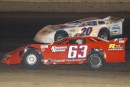 Dennis Erb Jr. (63) drove Rob Kirchner's No. 63 to a $10,000 Deery Brothers Summer Series victory Aug. 14, 2003, at 34 Raceway in West Burlington, Iowa. (DirtonDirt.com)
