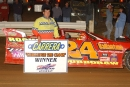 Nathan Durboraw was the fast qualifier for the 2002 Winchester 200 with a lap of 16.156 seconds, but the Hagerstown, Md., native failed to make the feature event. (rickschwalliephotos.com)